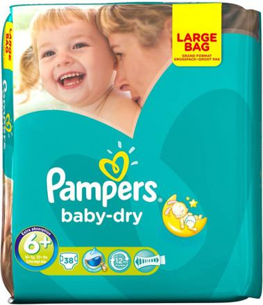 couche pampers taille 6
