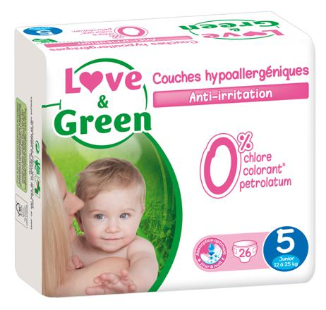 couches love and green taille 5