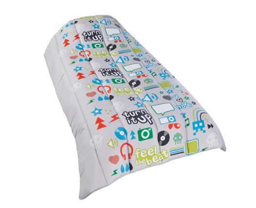 couette imprimée pour lit bébé