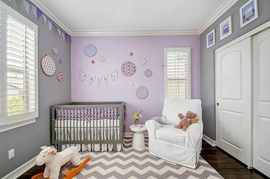 couleur chambre bébé fille