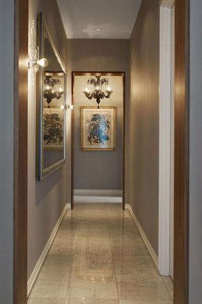 couleur couloir moderne