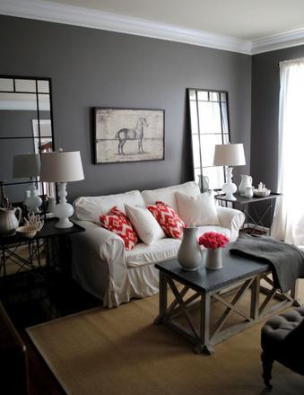 couleur salon gris