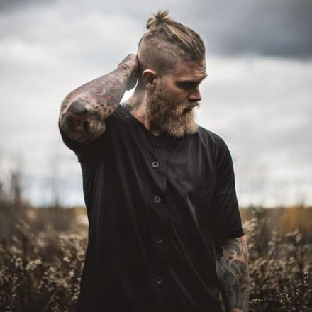 coupe cheveux viking homme