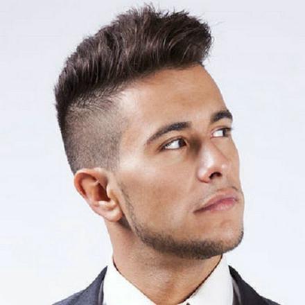 coupe de cheveux homme mi court