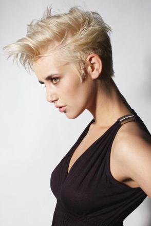 coupe de cheveux rock femme