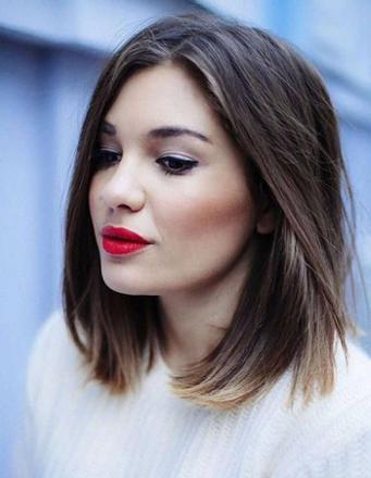 coupe de cheveux visage rond femme