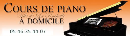cours piano à domicile