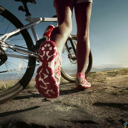 course a pied et velo