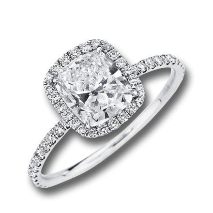 coussin diamant