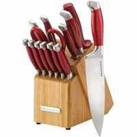 couteau kitchenaid rouge