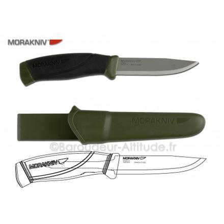 couteau mora companion heavy duty mg