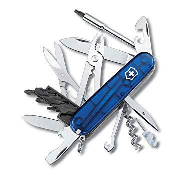 couteau suisse bleu