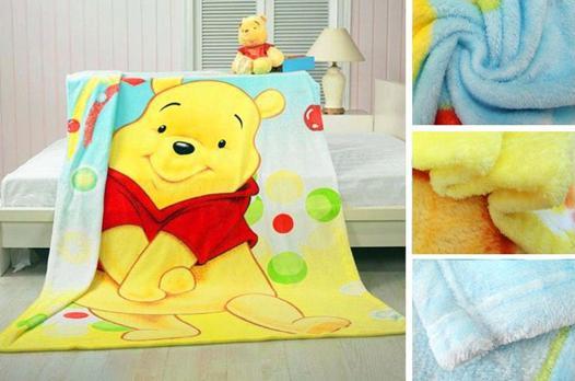 couverture polaire bébé disney