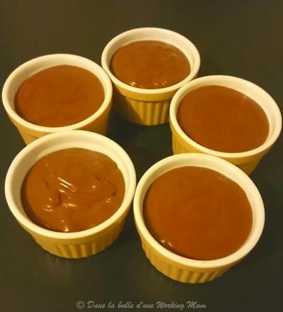 creme au chocolat cookeo
