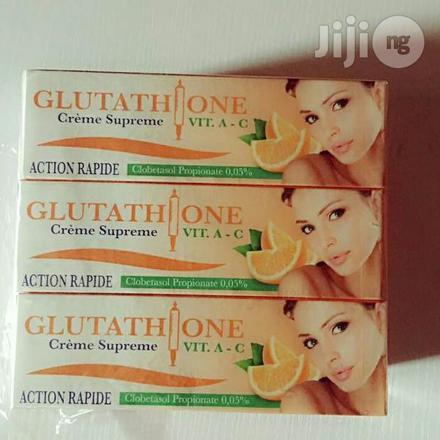 crème glutathion