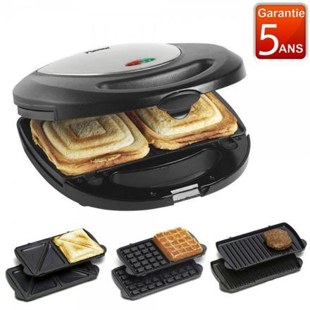 croque monsieur gaufrier grill