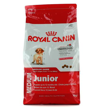 croquette chien royal canin junior