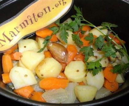 cuire carotte et pomme de terre ensemble