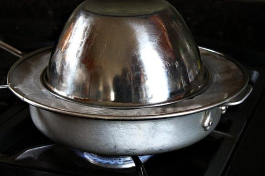 cuisson à la vapeur sans appareil