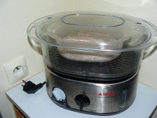 cuisson riz cuit vapeur