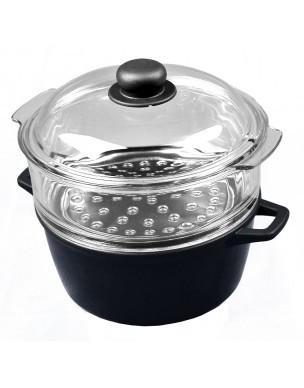 cuit vapeur verre pyrex