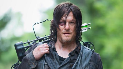 daryl walking