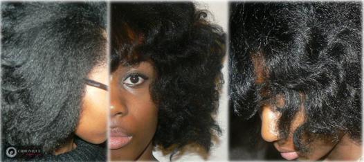 defrisage naturel pour cheveux crepus
