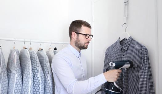 defroisser chemise vapeur