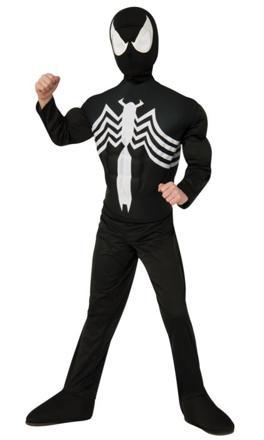 déguisement de spiderman noir