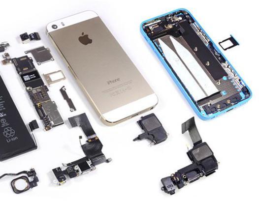 demontage iphone 5 c