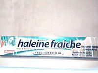 dentifrice haleine fraiche