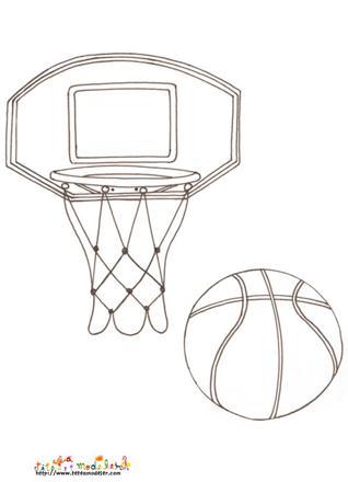 dessin de basket facile