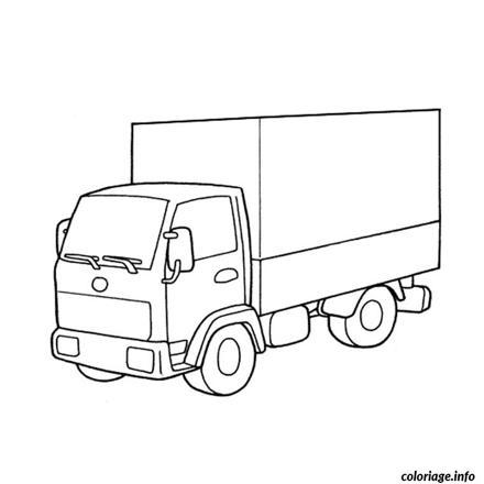 dessin de camion