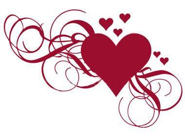 dessin de coeur swag
