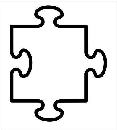 dessin pièce puzzle