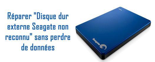 détecter disque dur externe