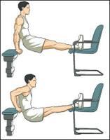 dips avec chaise