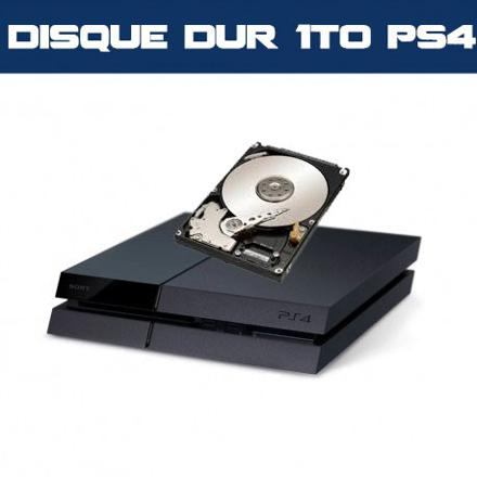 disque dur 1to ps4