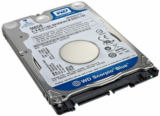 disque dur 2.5 sata 500 go