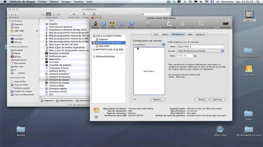 disque dur externe mac et pc