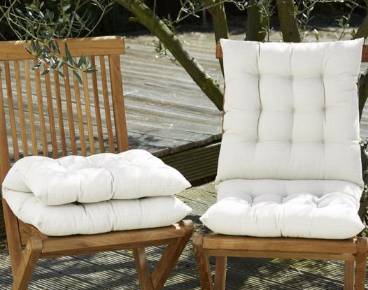 double coussin de chaise
