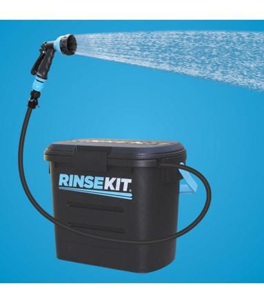 douche portable avec eau sous pression