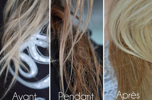 du beurre pour les cheveux