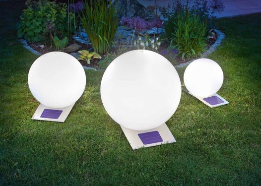 éclairage jardin solaire