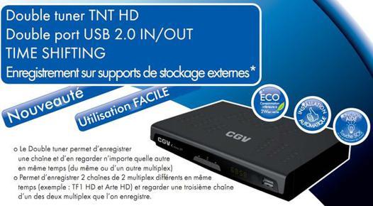 enregistreur numérique tv double tuner