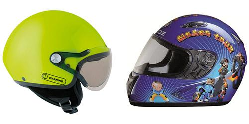 equipement moto pour enfant
