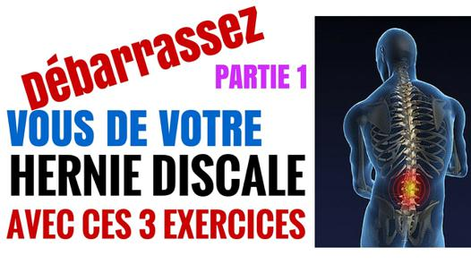 exercice pour hernie discale