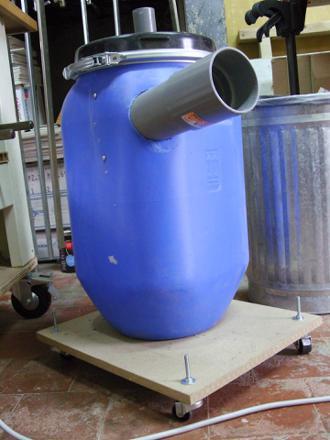 fabrication d un aspirateur cyclone