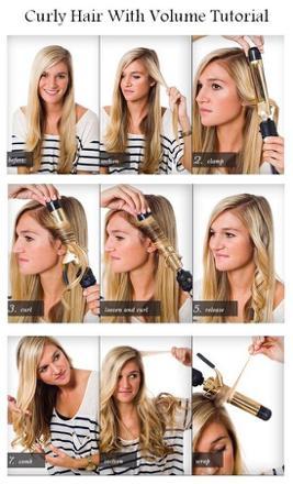 faire boucle cheveux