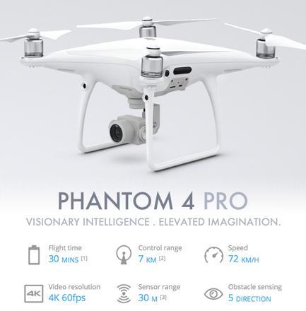 fantome 4 drone